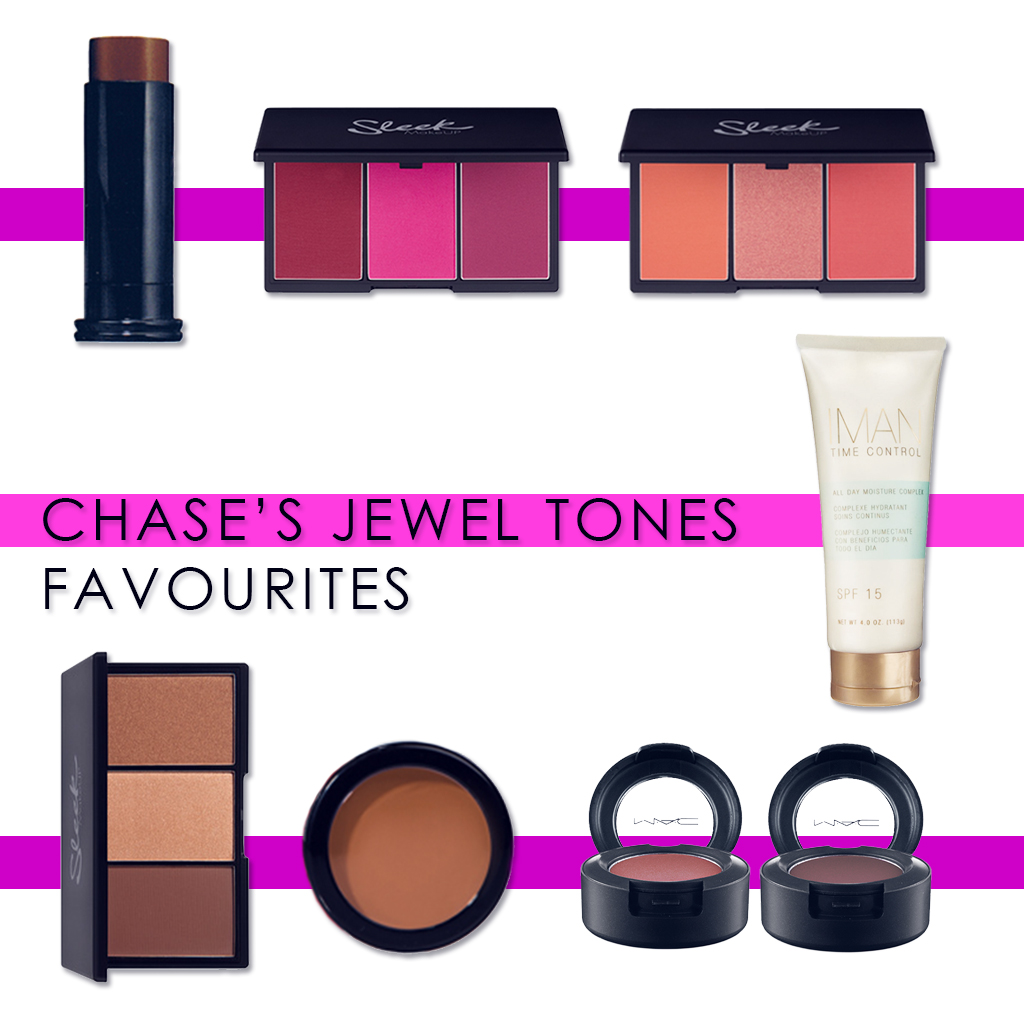 CHASE JEWEL TONES FAVOURITES AMENDED